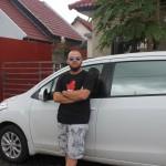 Наша первая машина и дороги на острове Бали. GoPro Hero 3