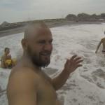Борьба с волнами на Бали! Echo Beach. GoPro Hero 3