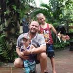 Зоопарк острова Бали. Bali Zoo. GoPro Hero 3